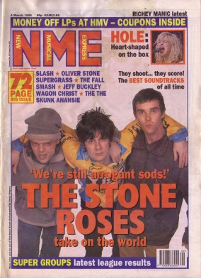 the-stone-roses-on-the-cover-of-nme-4th-march-1995